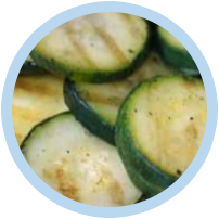 IQF Grilled Courgette