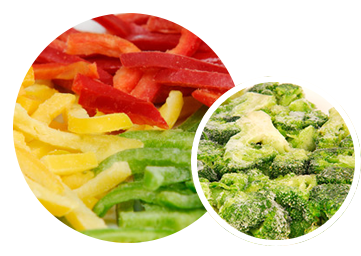 IQF blanched vegetables - Broccoli Block